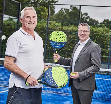 Solihull tennis club invests in pioneering new Padel tennis facility