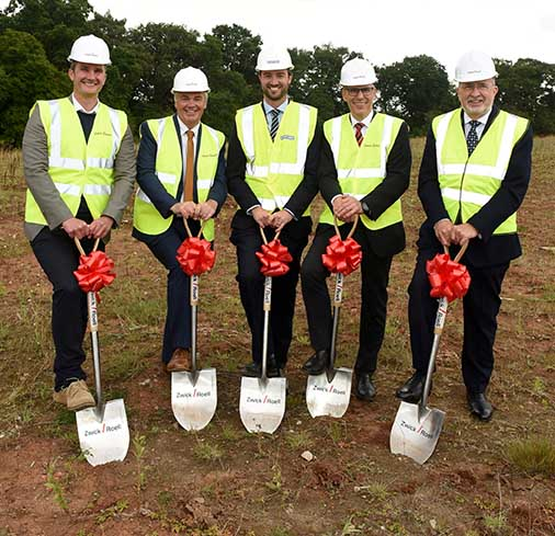 Work finally begins on new Worcester Six unit for ZwickRoell