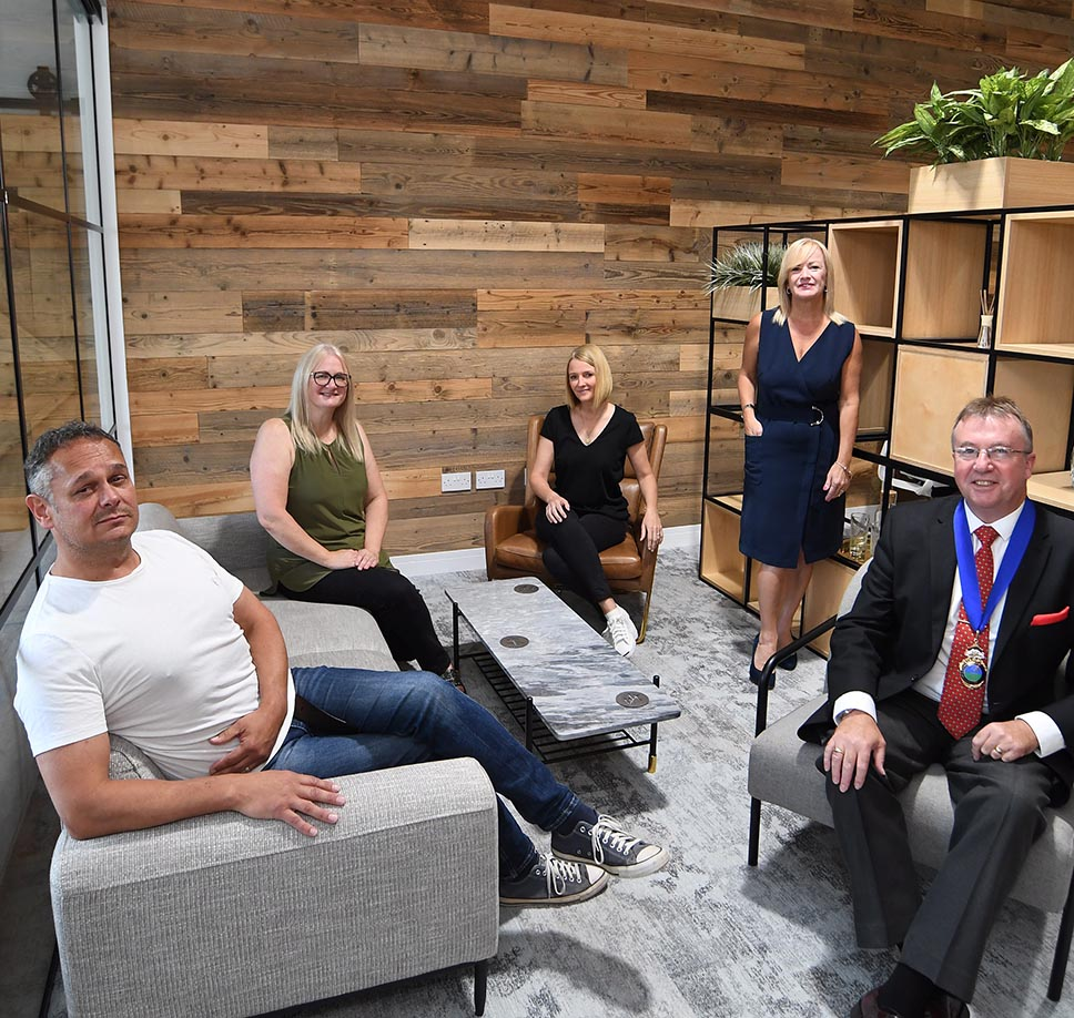 A cushy job for furniture fitters if they apply says Coventry-based X4Office